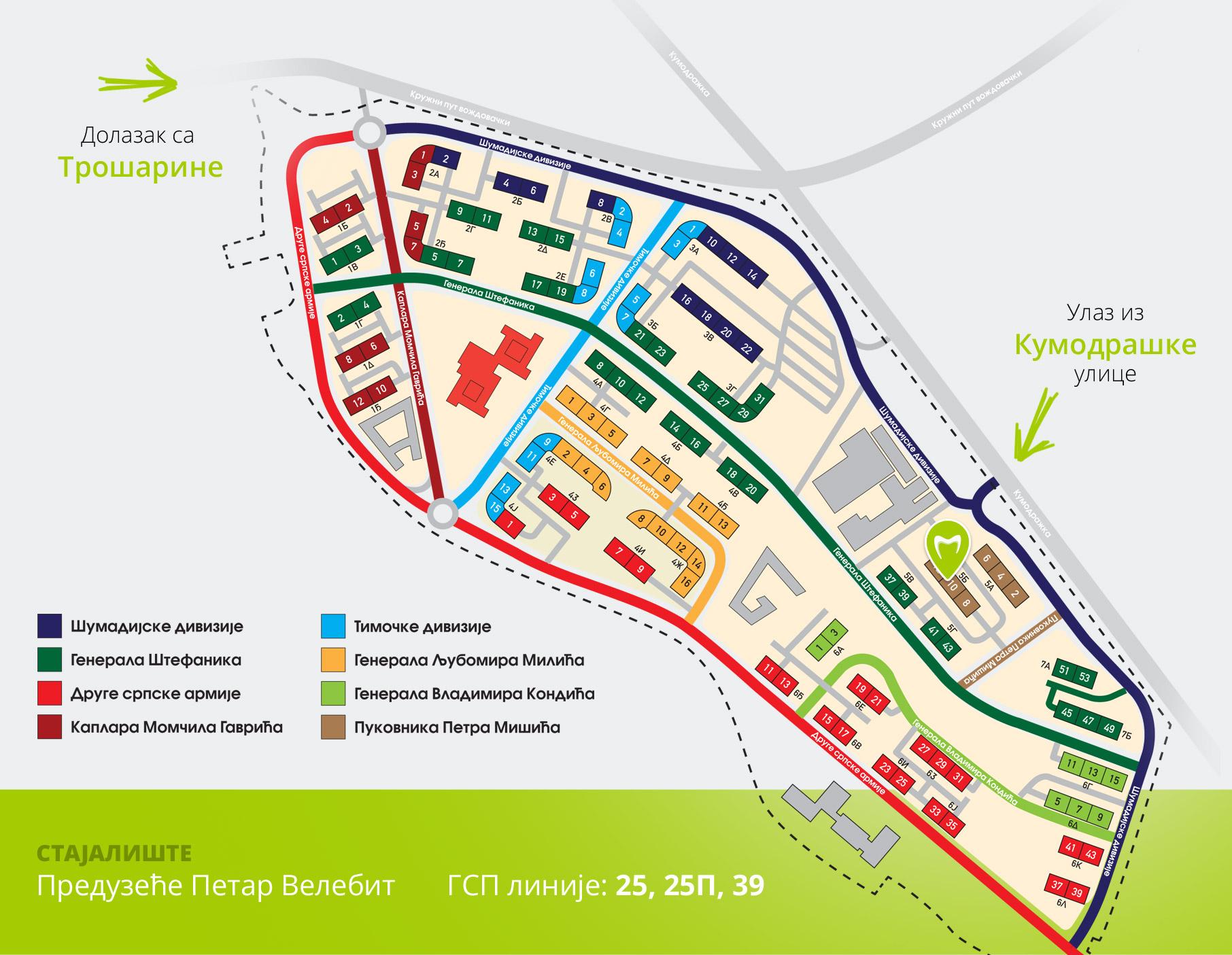 naselje stepa stepanovic mapa септембар | 2014 | SmartDent naselje stepa stepanovic mapa